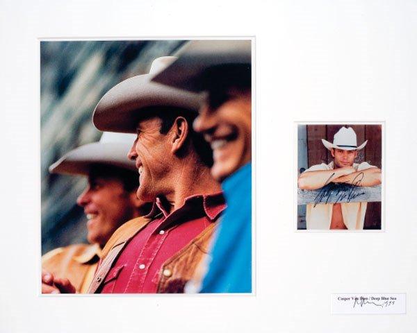 1106:  RICHARD   PRINCE  (b. 1949)  UNTITLED (COWBOY) 1