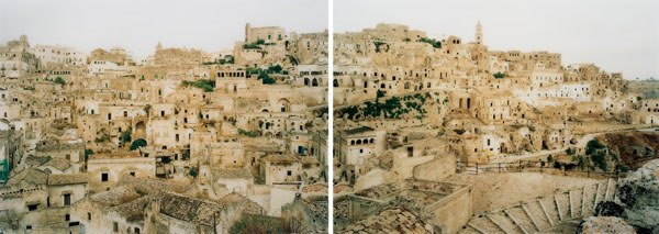 1146:  ELGER  ESSER  (b. 1967)  MATERA I ITALIEN 1998 M