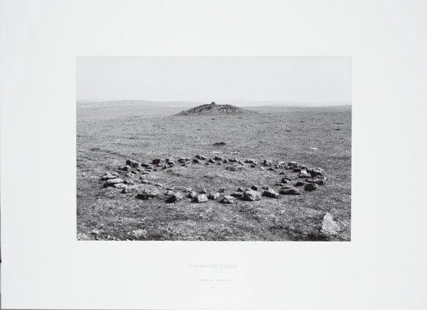1200:  RICHARD  LONG  (b. 1945)  DARTMOOR CIRCLE ALONG