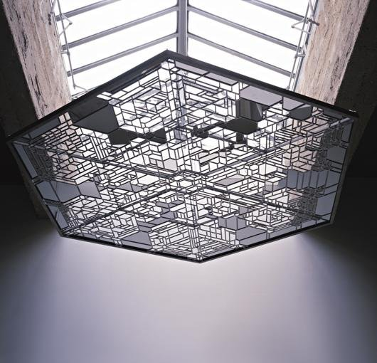 11: OLAFUR ELIASSON, Snow crystal roof, 2004