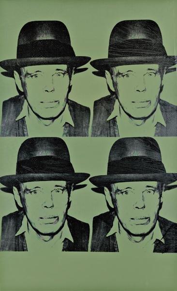 15: ANDY WARHOL, Portrait of Joseph Beuys, 1980