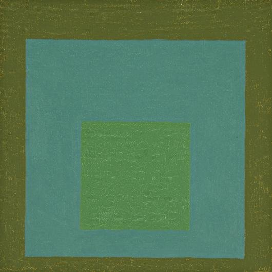 16: JOSEF ALBERS, Homage to the Square, 1963