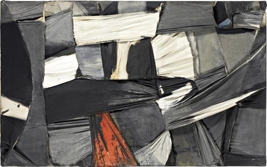 23: SALVATORE SCARPITTA, Trapped Canvas, 1958
