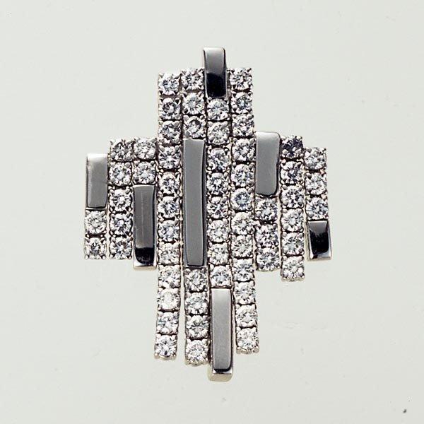 5: A DIAMOND-SET PENDANT - GAVELLO