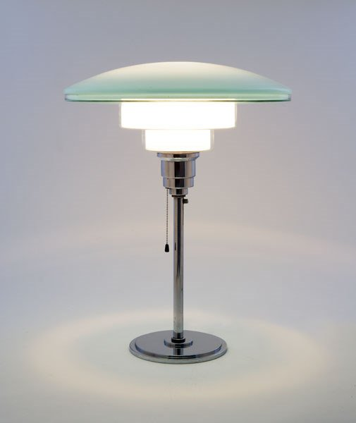 18:    SISTRAH  TABLE LAMP, CA. 1932  manufactured by S