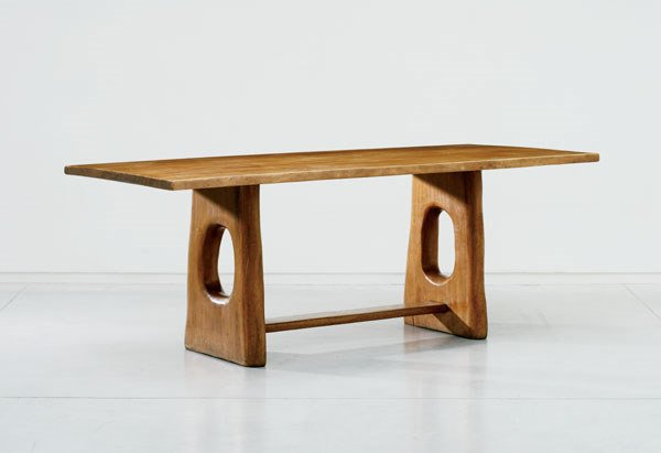 143:  ALEXANDRE  NOLL  RARE AND IMPORTANT TABLE, CA. 19