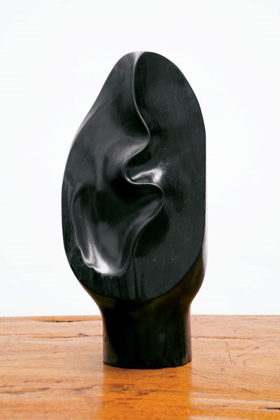 150:  ALEXANDRE   NOLL  SCULPTURE, 1968  ebony, signed