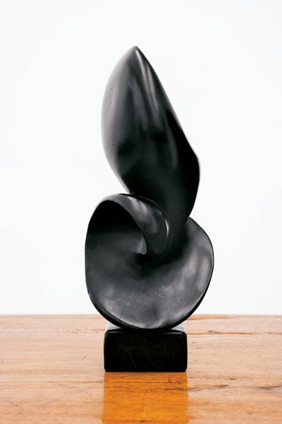 153:  ALEXANDRE  NOLL  SCULPTURE, CA. 1960  ebony, sign