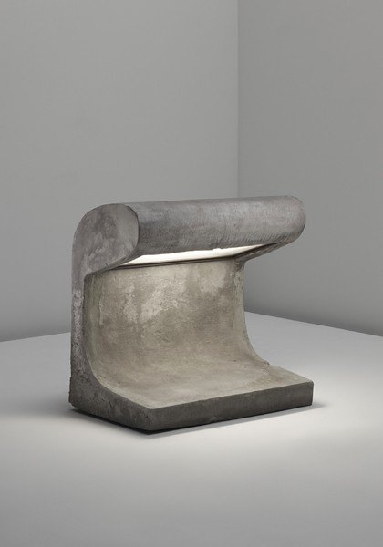 1: LE CORBUSIER, Exterior light, from Chandigarh, India