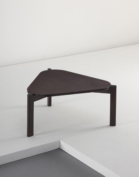 4: PIERRE JEANNERET, Low table, from Chandigarh, India,