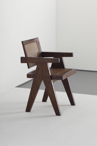 6: PIERRE JEANNERET, Conférence' armchair, from Chandig