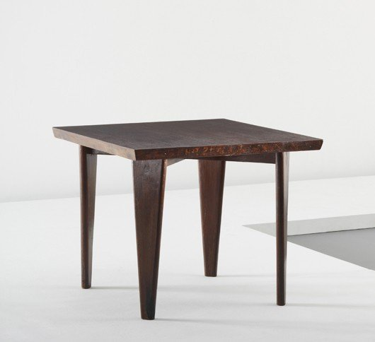 7: PIERRE JEANNERET, Occasional table, from Chandigarh,