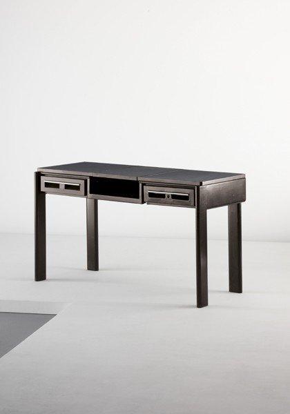 10: JEAN PROUVÉ, 'C.P.D.E.' desk with variable fittings