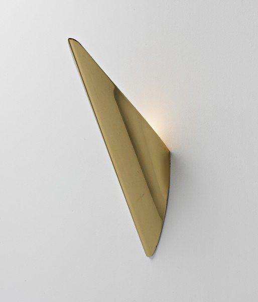 12: MATHIEU MATÉGOT, Wall light, c. 1960
