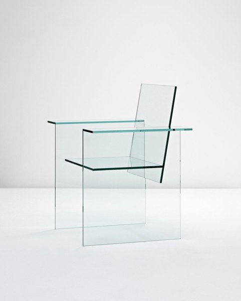 93: SHIRO KURAMATA, Glass Chair', designed 1976