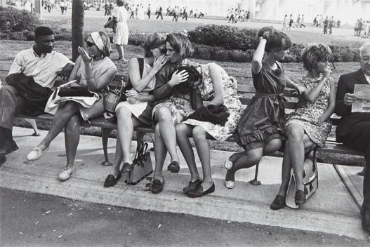 8: GARRY WINOGRAND, World's Fair, New York City, 1964
