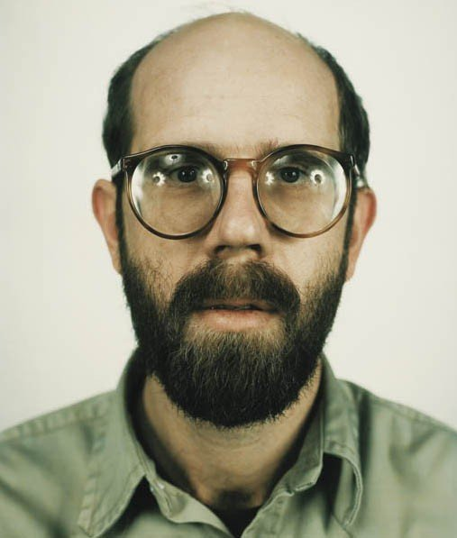 19: CHUCK CLOSE, Self-Portrait, 1979