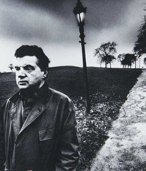 21: BILL BRANDT, Francis Bacon on Primrose Hill, 1963
