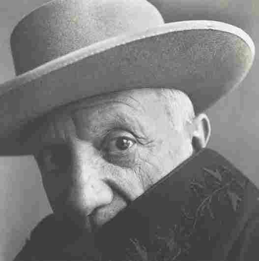 IRVING PENN, Pablo Picasso at La Californie, Cannes