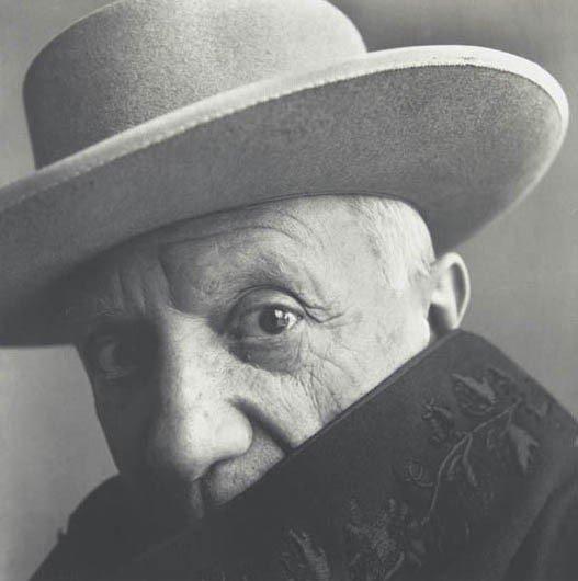 22: IRVING PENN, Pablo Picasso at La Californie, Cannes