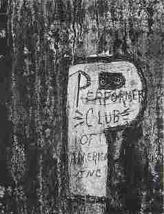 43: AARON SISKIND, Performer Club of America, 1953