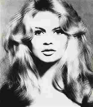 64: RICHARD AVEDON, Brigitte Bardot, Hair by Alexandre,