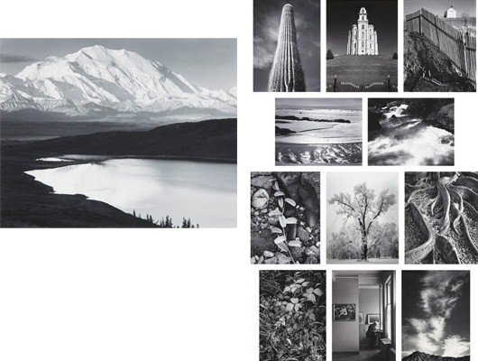 110: ANSEL ADAMS, Portfolio One: Twelve Photographic Pr