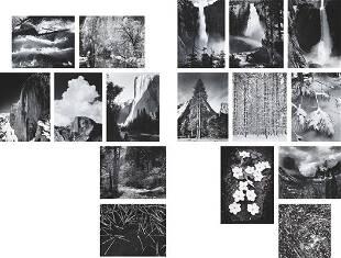 142: ANSEL ADAMS, Portfolio Three: Yosemite Valley