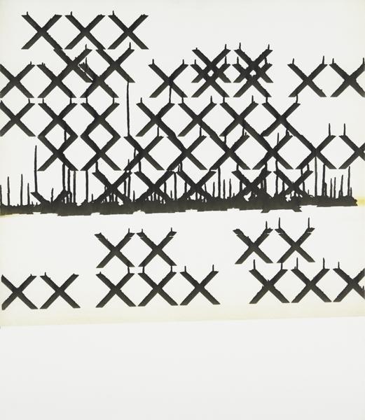 1: Wade Guyton, Untitled, 2006