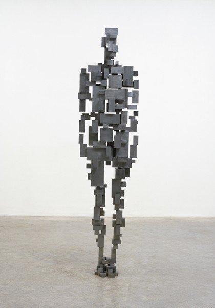 12: Antony Gormley, Sublimate XVI, 2008