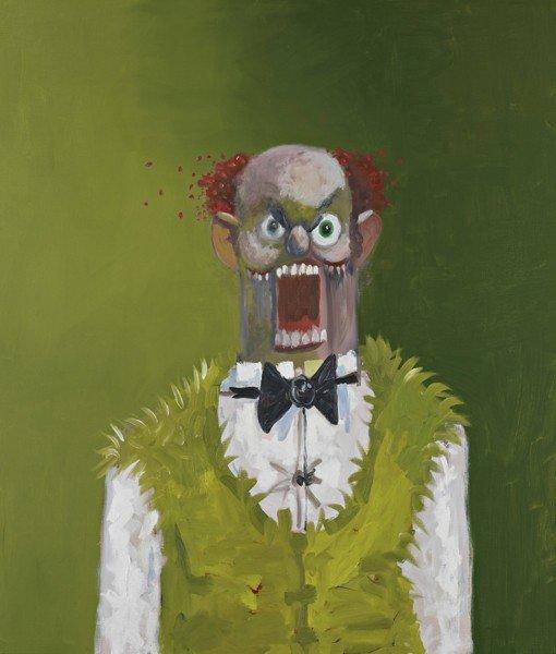 16: George Condo , The Irish Barber, 2008