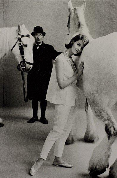 11: FRANK HORVAT, Untitled for British Vogue, 1959