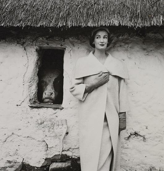 14: NORMAN PARKINSON, Wenda and Inquisitive Cow, 1954