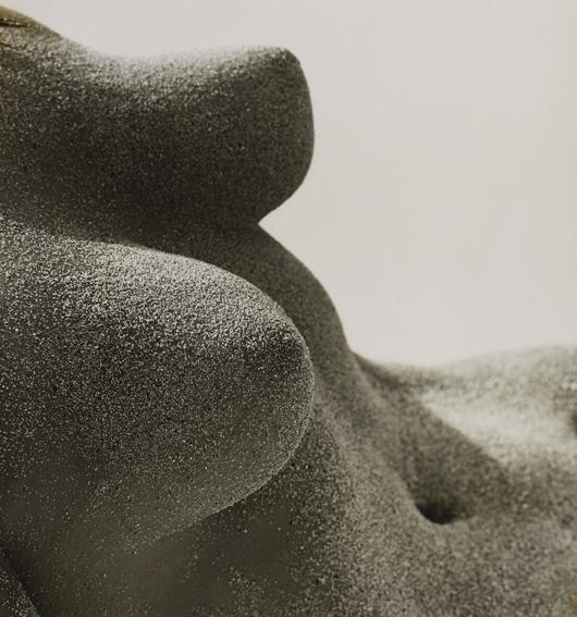 23: HERB RITTS, Sand Breasts, Hawaii, 1988