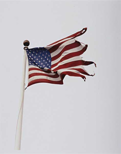25: MICHAEL DWECK, Flag at Snug Harbor, Montauk, New Yo