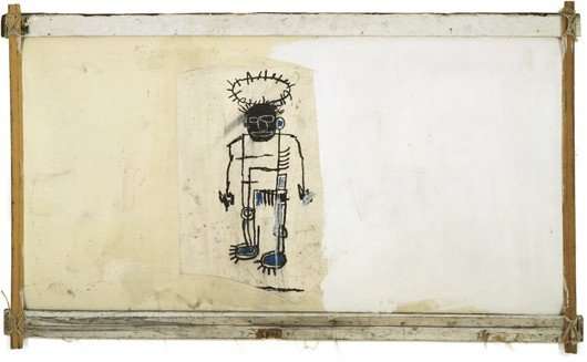 8: Jean-Michel Basquiat, Self-Portrait, Executed in 198