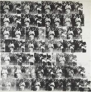 15: Andy Warhol, Men in Her Life, Executed in October-N