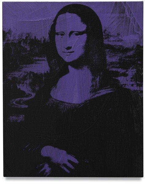 107: Andy Warhol, Mona Lisa, 1979
