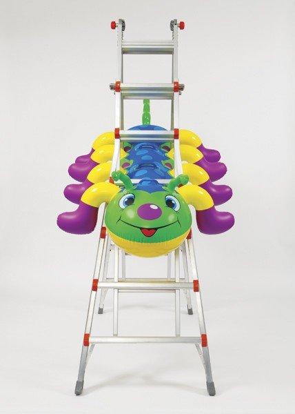 108: Jeff Koons, Caterpillar Ladder, 2003
