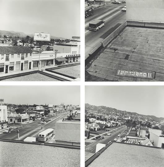 8: ED RUSCHA, Rooftops, 1961