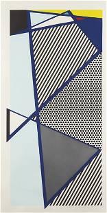 ROY LICHTENSTEIN, Imperfect Print for B.A.M., 1987