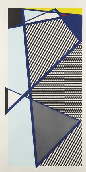 14: ROY LICHTENSTEIN, Imperfect Print for B.A.M., 1987