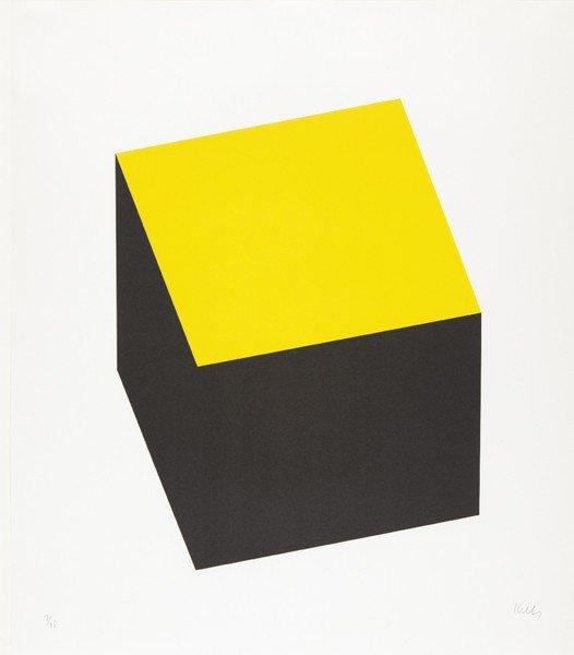 16: ELLSWORTH KELLY, Yellow/Black, 1970