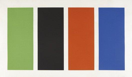 18: ELLSWORTH KELLY, Four Panels, 1970-71