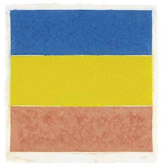 21: ELLSWORTH KELLY, Colored Paper Image XVI, 1976