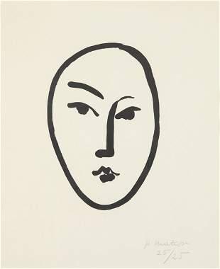 42: HENRI MATISSE, Grand masque, 1948