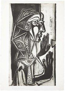 49: PABLO PICASSO, La femme à la fenêtre, 1952-3