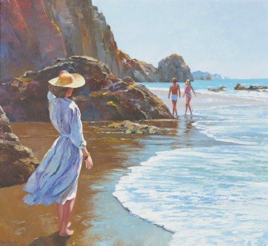 5: Howard Behrens, Untitled [Woman on Beach]