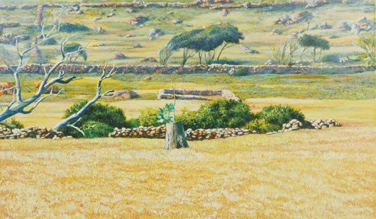 7: Fabio Aguzzi [Yellow Landscape, St. Barth F.W.I.]