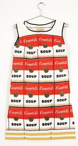 748:  ANDY  WARHOL  (1928-1987)  THE SOUPER DRESS, USA